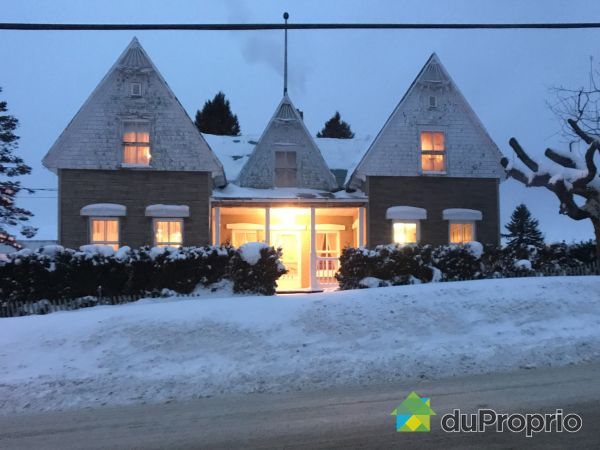 Winter Front - 274 rue Principale Ouest, Ste-Euphemie-Sur-Riviere-Du-Sud for sale