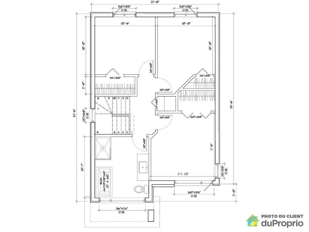 Plan maison à construire quartier panorama beauport for sale