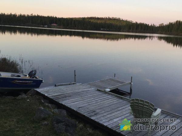 Bord de l'eau - Lac Miroir, Zec, Kiskissink à vendre