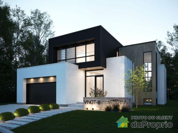 28, rue de Boigne - Projet Chambéry - À construire - Par Habitations Concept Dub, Blainville à vendre
