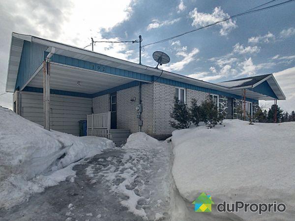 Winter Front - 192 rang Sainte-Anne, St-Narcisse-De-Beaurivage for sale