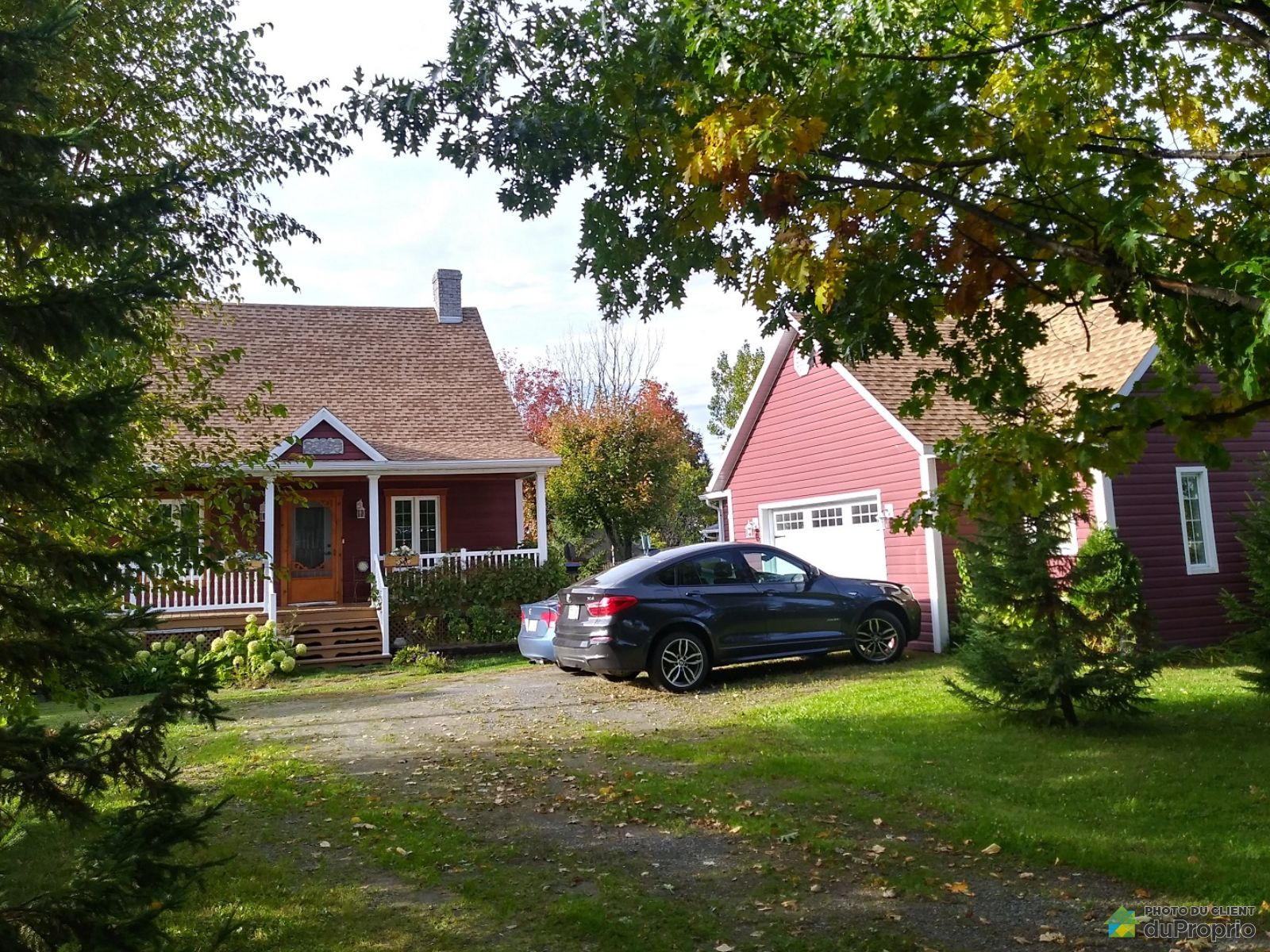 Front Yard - 2330 route Marie-Victorin, Deschaillons for sale