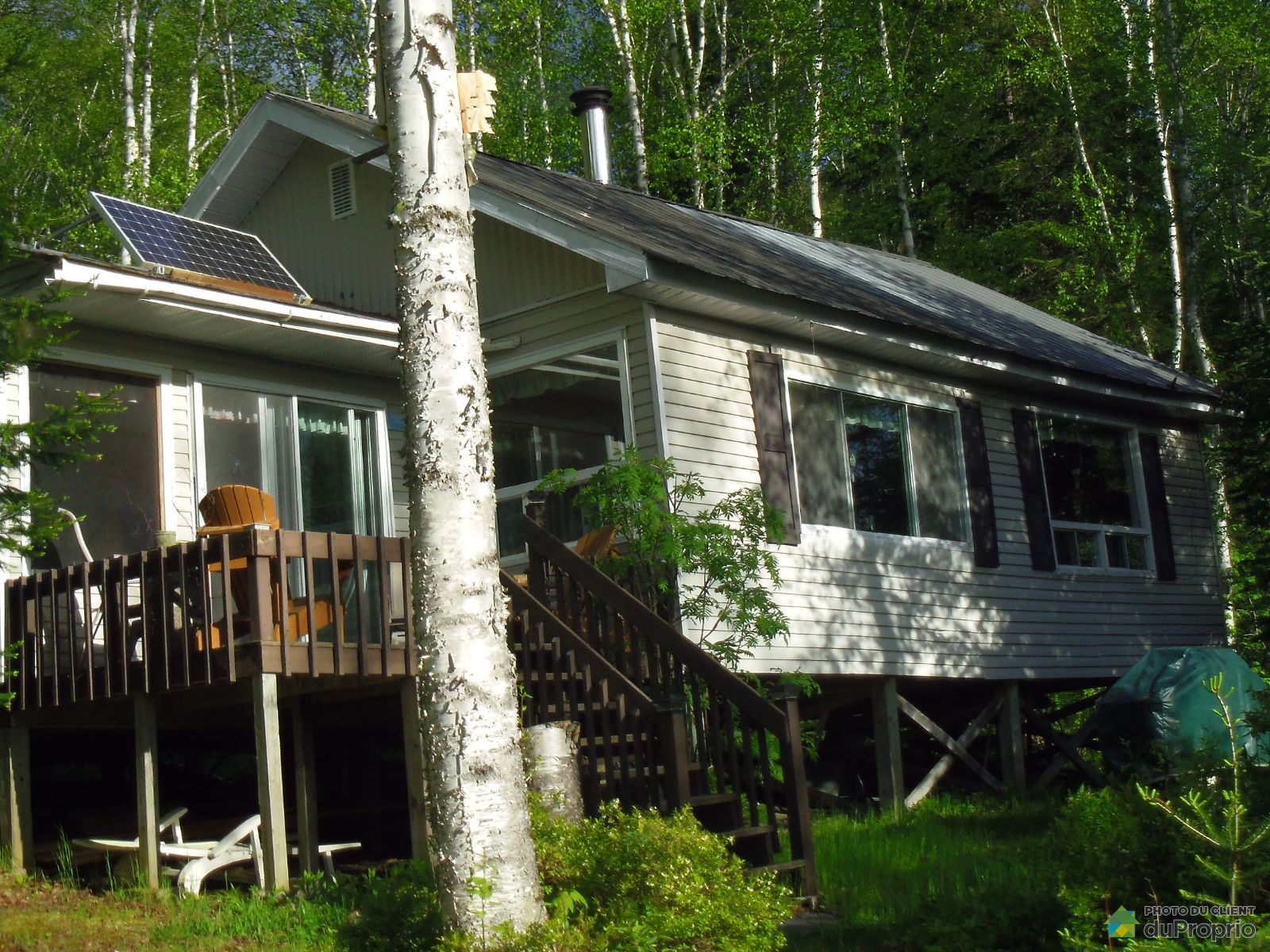 View - 1 Lac Side Camp, La Tuque for sale