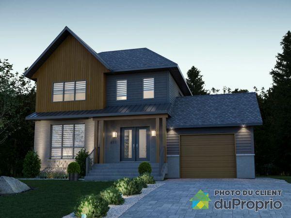 411, avenue des Peupliers - Projet Place du Parc - À construire - Par Habitations Concept Dub, Bois-Des-Filion à vendre