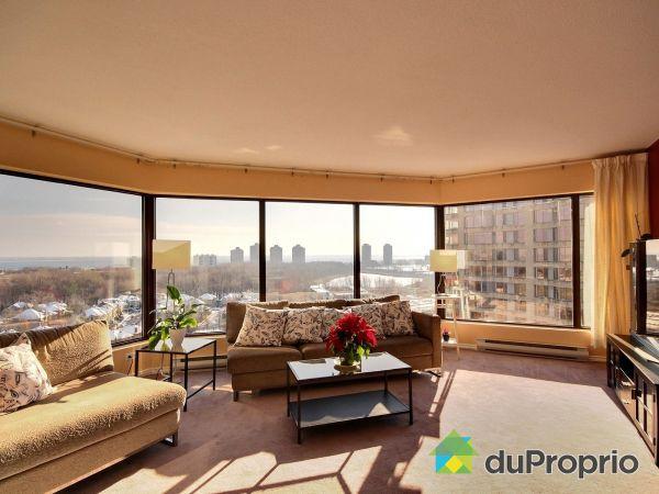 Living Room - 1804-201 chemin du Club-Marin, L'Ile Des Soeurs for rent
