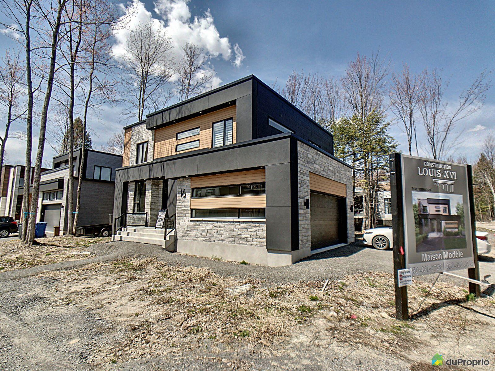 21, rue d'Apremont- Par Constructions Louis-Seize, Blainville à vendre