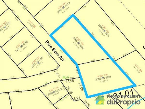 Map - 70 rue Bon-Air, Ste-Catherine-de-la-JC for sale