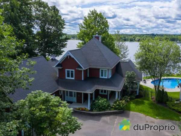 Aerial View - 3465 chemin Hemming, Drummondville (St-Charles-De-Drummond) for sale