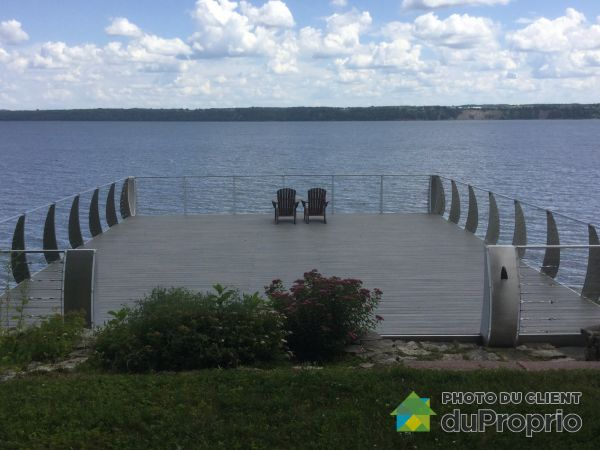 Waterfront - 455 route 138, Neuville for sale