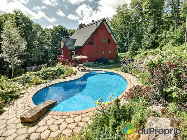 Backyard - 1540 chemin Brunet, Ste-Agathe-Des-Monts for sale