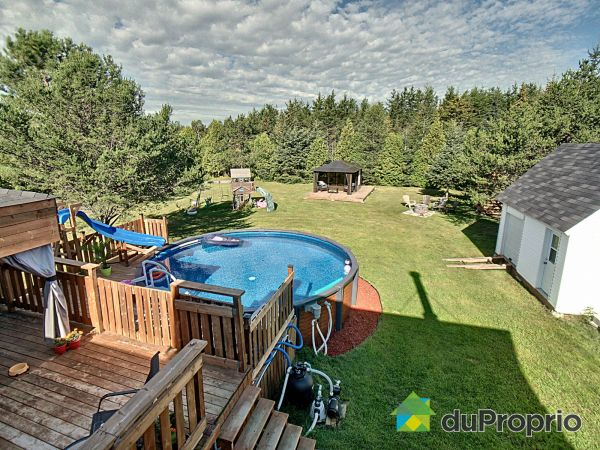 Backyard - 1524 rang des Chutes, St-Ambroise for sale