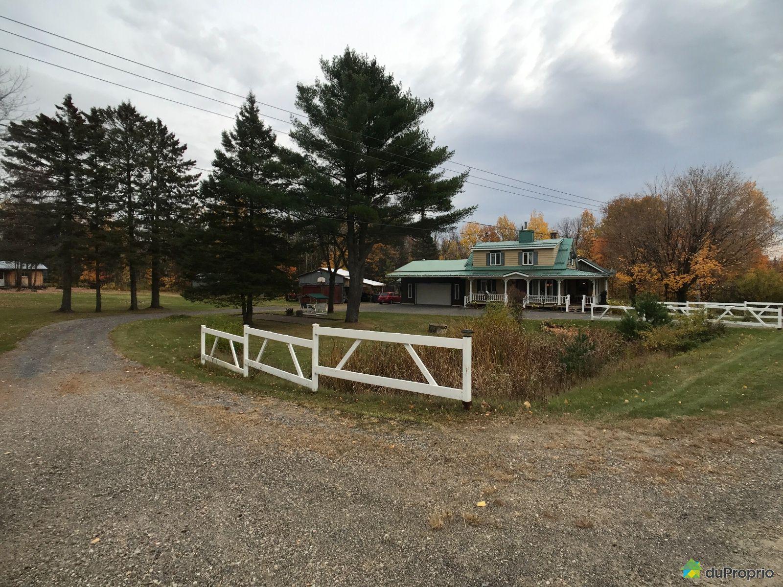 3070, chemin du Lac, St-Norbert à vendre
