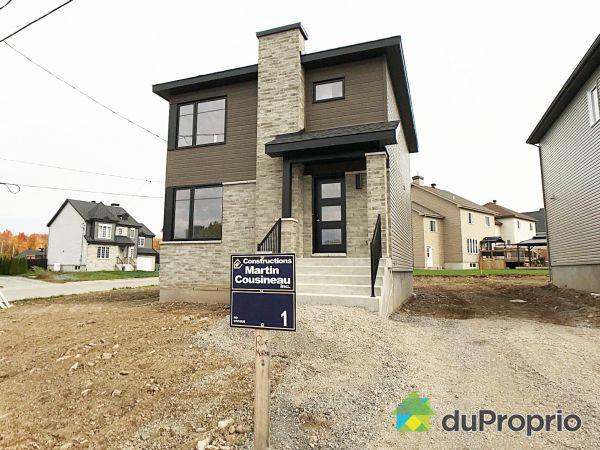 3, rue Moreau - À CONSTRUIRE - Par Les Constructions Martin Cousineau inc., Lachute à vendre