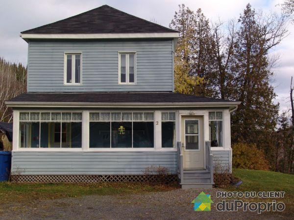 2 rue Fraser, Matapedia for sale