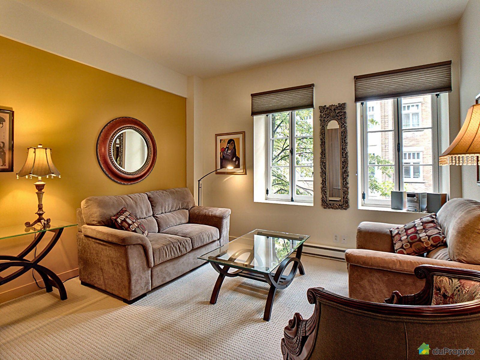 Living Room - 304-545 rue Jacques-Parizeau, Vieux-Québec for sale