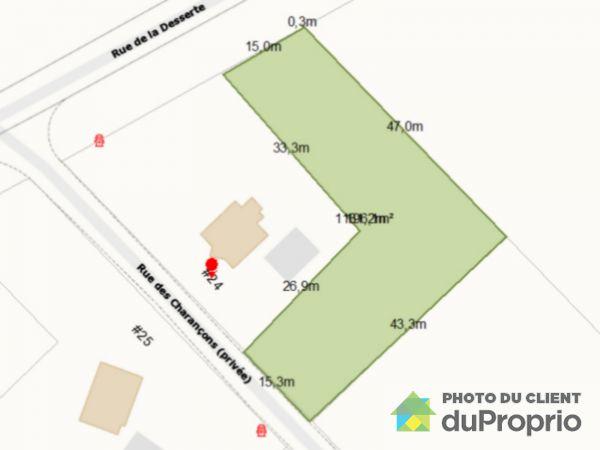 Terrain - 22, rue des Charançons, Ste-Foy à vendre