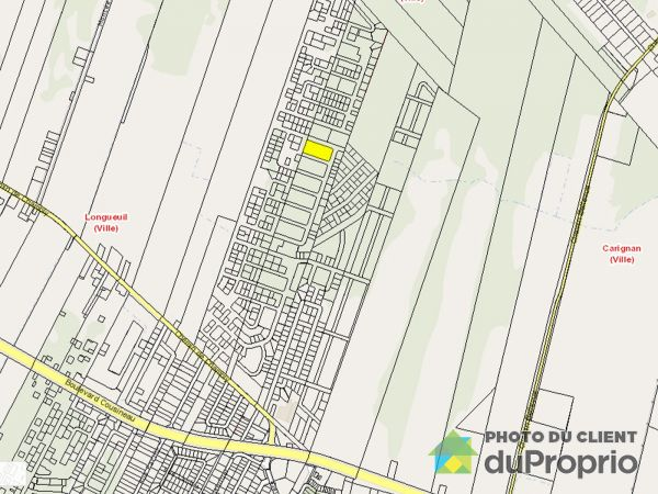 Carte - , chemin de Chambly, Longueuil (Vieux-Longueuil) à vendre