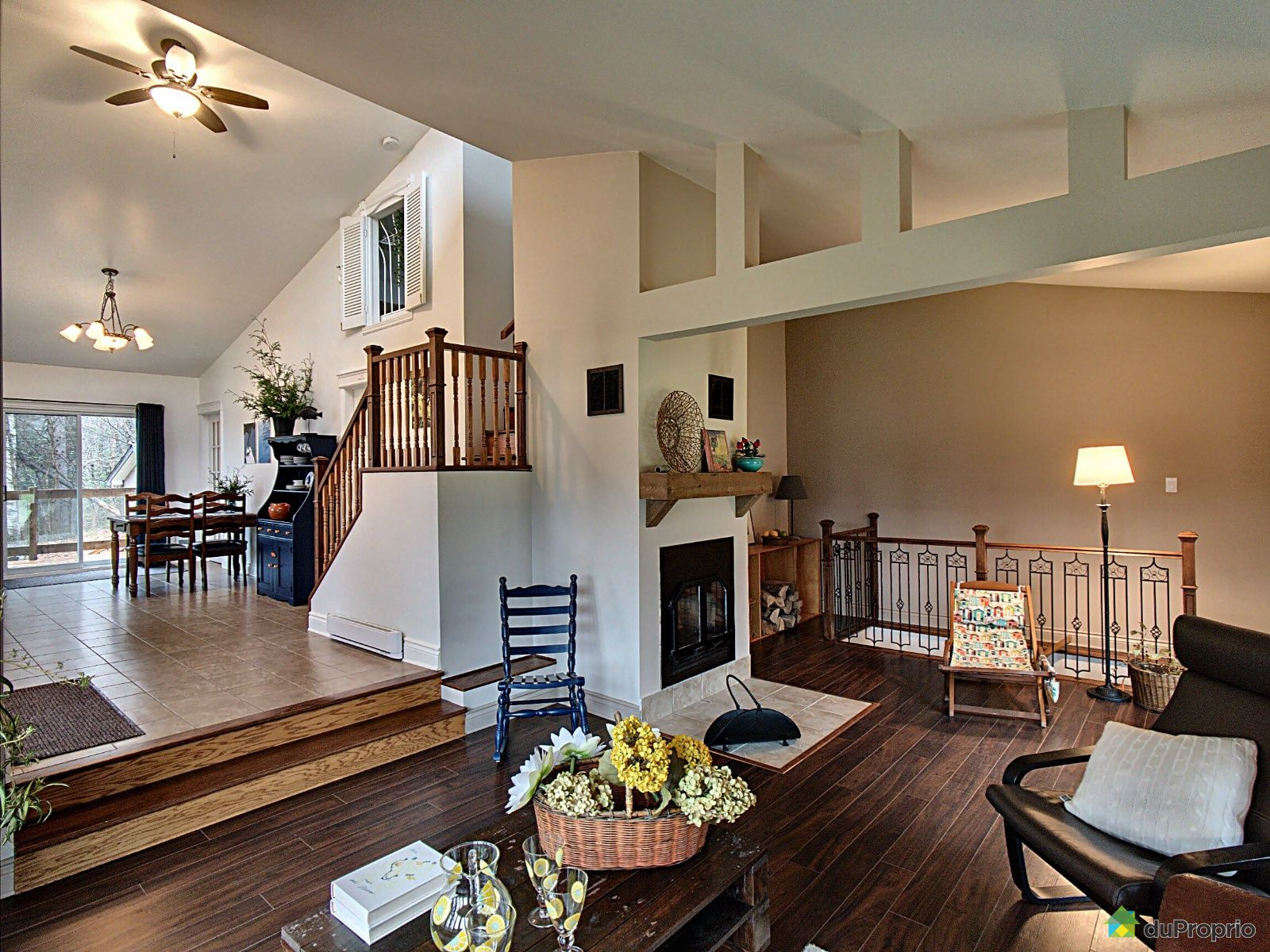 Living Room - 1601 montée d'Argenteuil, St-Adolphe-D'Howard for sale