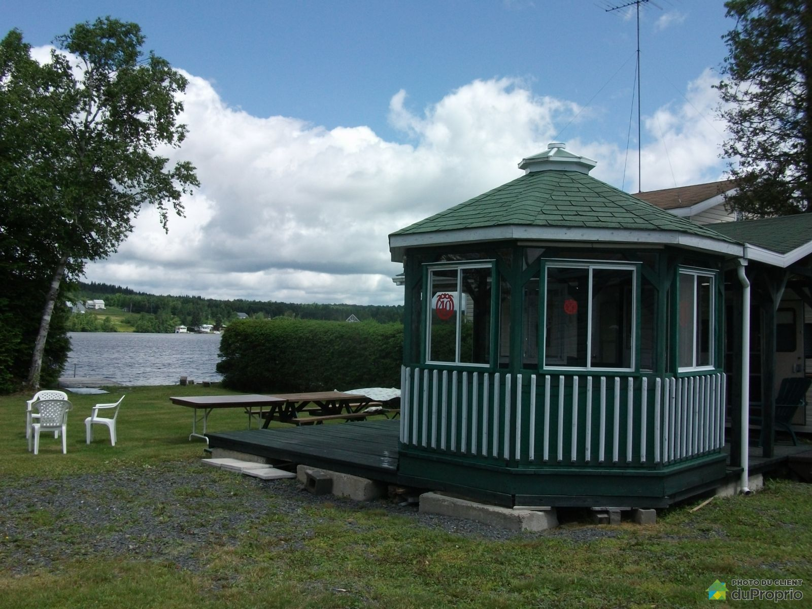 Lake Access - 141 6e Rang A du Lac-Falardeau, St-Zacharie for sale