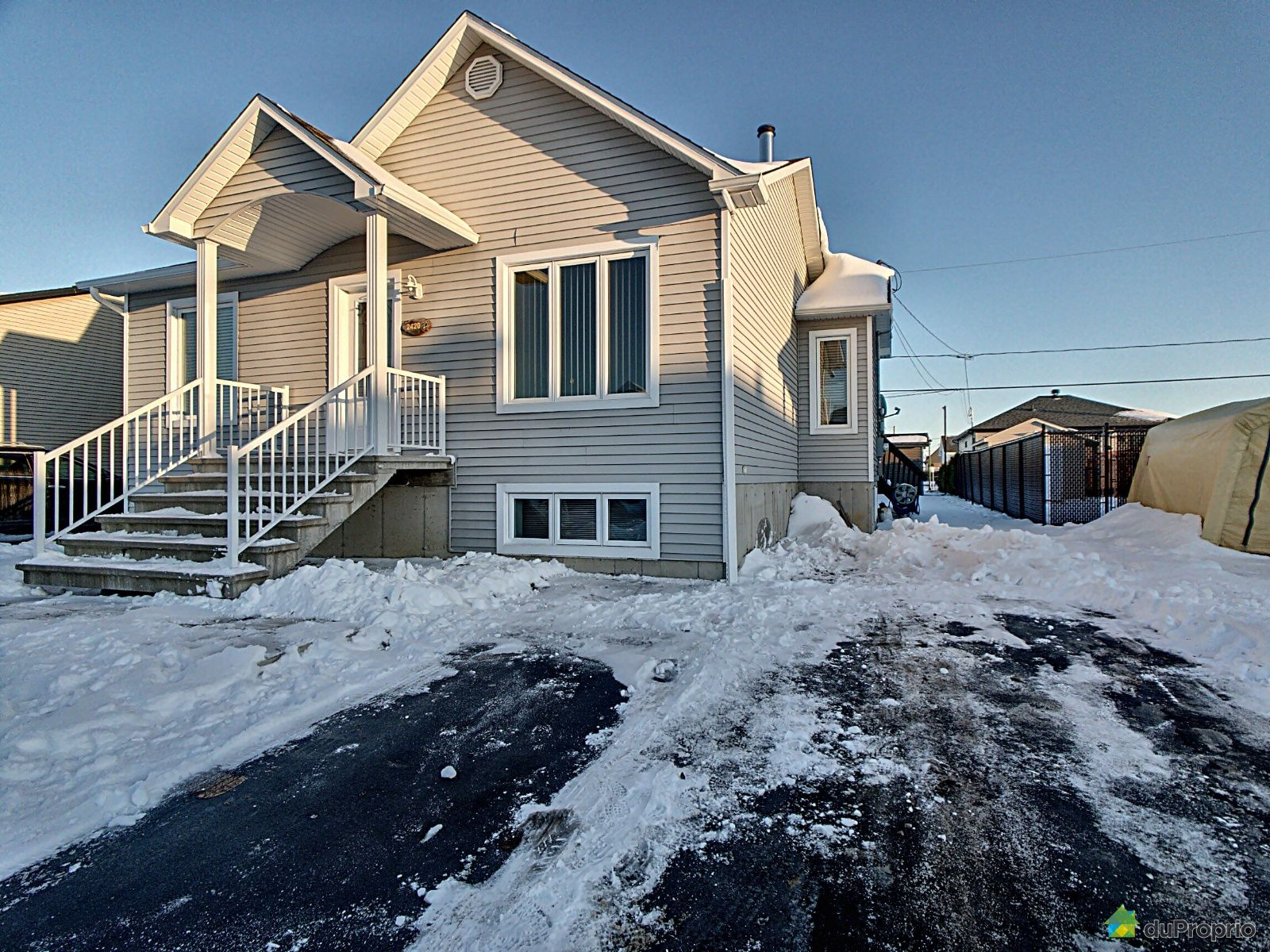 Outside - 2420 rue Vivaldi, Drummondville (Drummondville) for sale