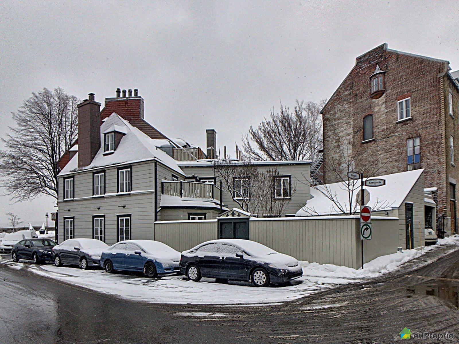 51 rue des remparts, vieux-québec for sale duproprio