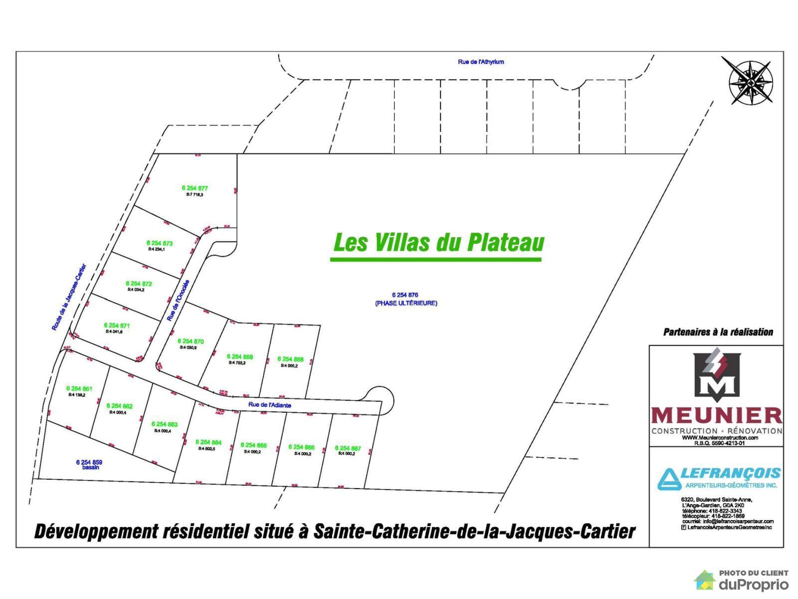 Plan - 206 route de la Jacques-Cartier, Ste-Catherine-de-la-JC for sale