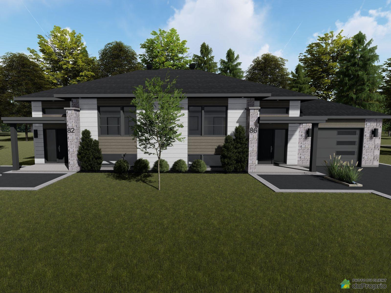 60-66, rue de la Manufacture - À construire - Par Construction Thibodeau, Victoriaville à vendre