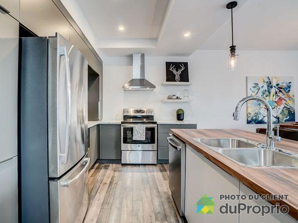 Kitchen - chemin du Relais - Quartier Meredith - Modèle le Métis E- Par Exo Construction, Chelsea for sale