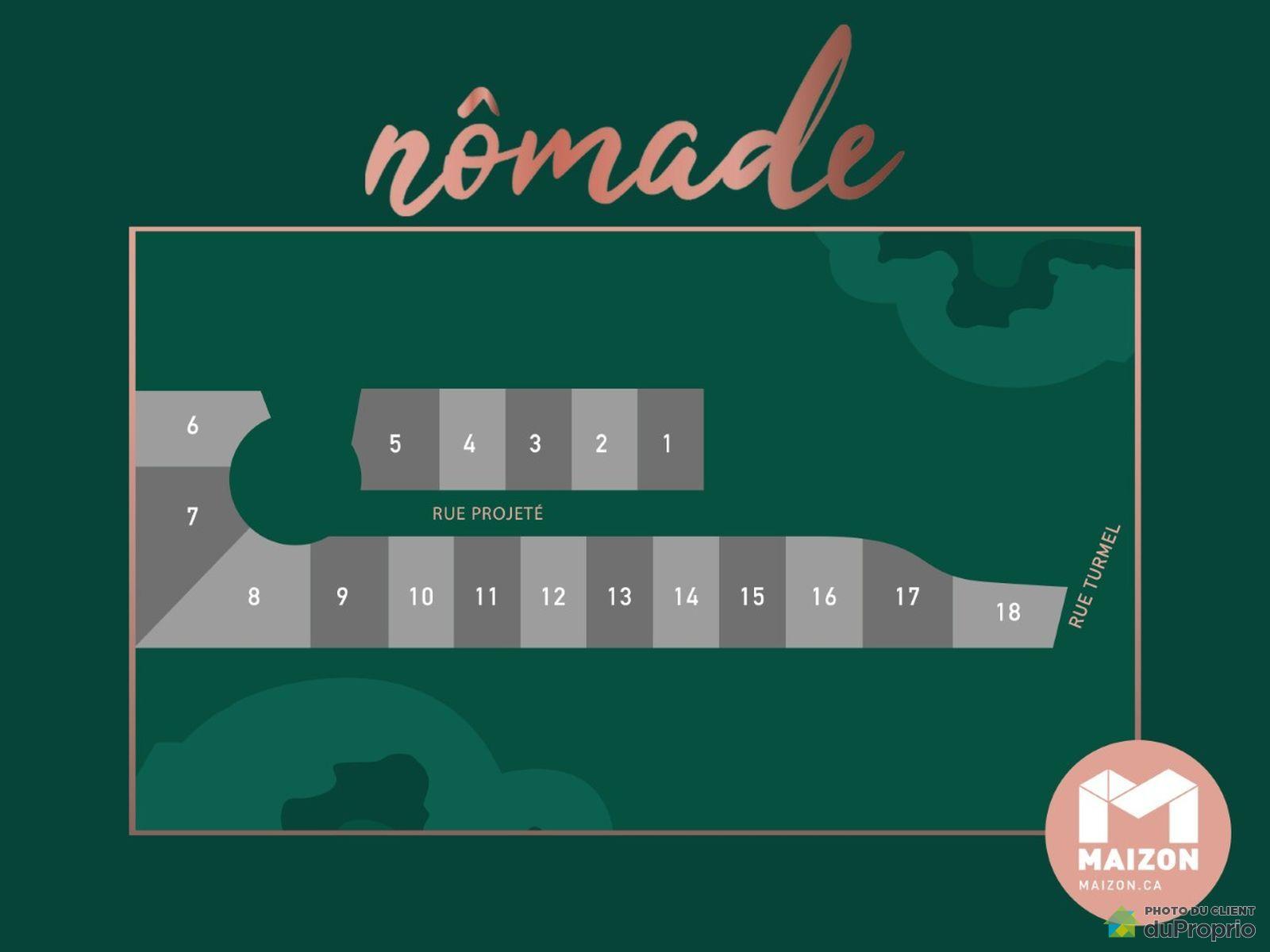rue Nomade - Par Maizon Construction Libre, L'Ancienne-Lorette for sale