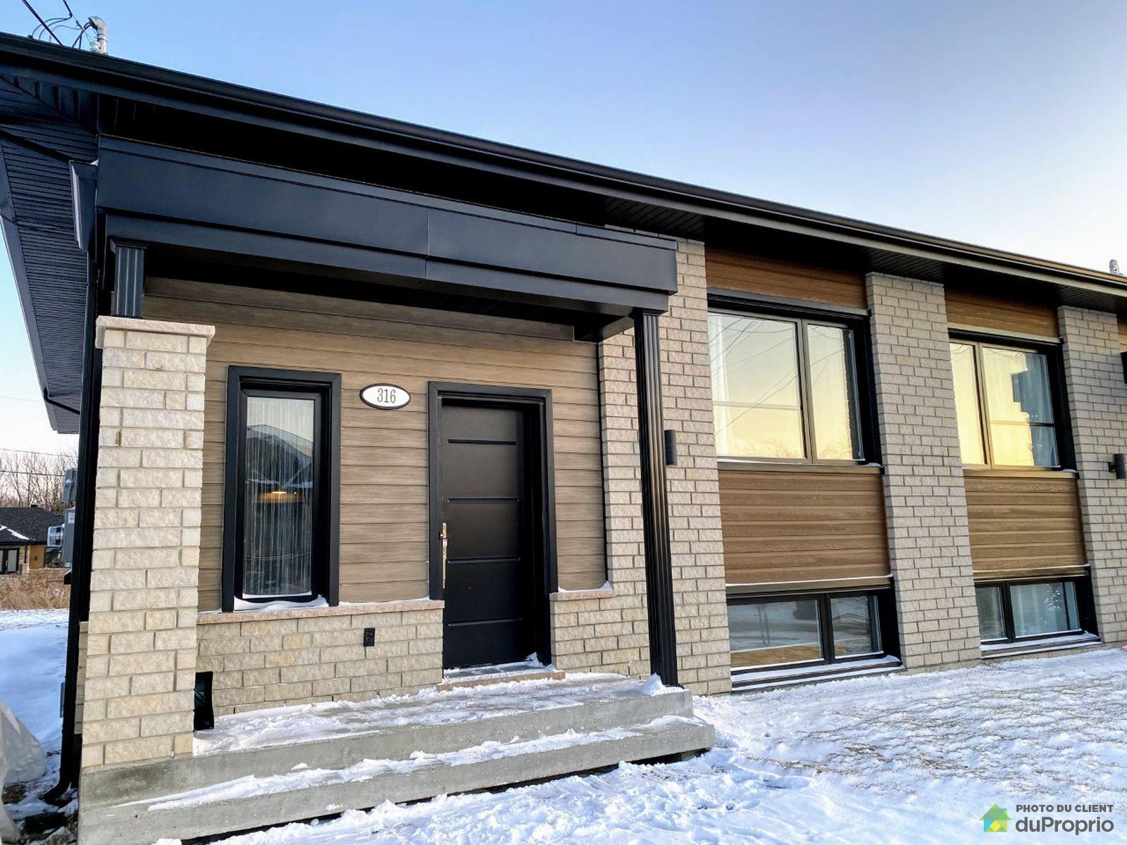 316 rue Lemay - Par Construction E.V. inc, St-Bernard for sale