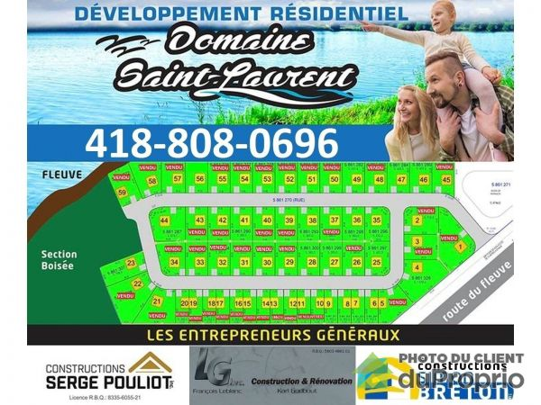rue du Fort de Beaumont - Par Construction Simon Breton, Beaumont for sale