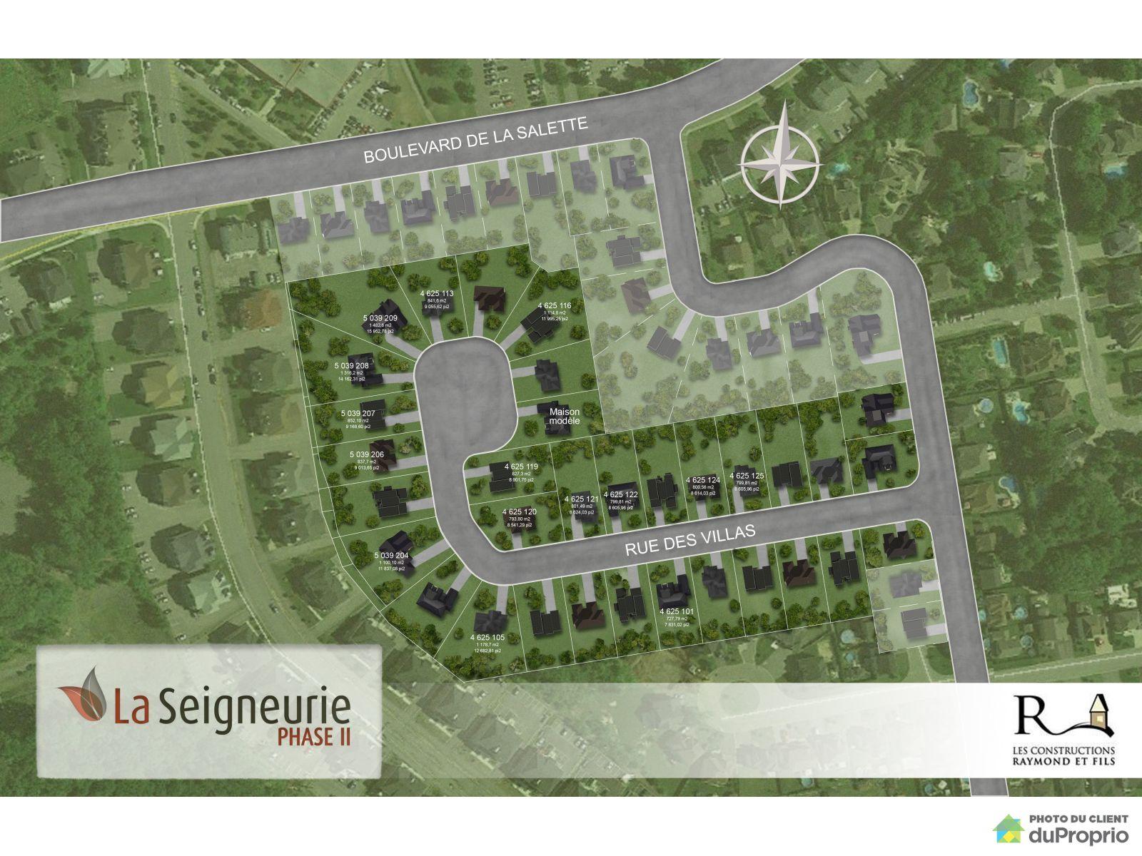 rue des Villas- Par les Constructions Raymond & Fils, St-Jérôme (Bellefeuille) for sale