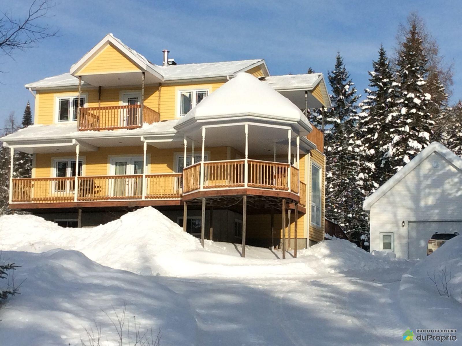 Winter Front - 1340 5e Avenue, St-Gabriel-De-Valcartier for sale