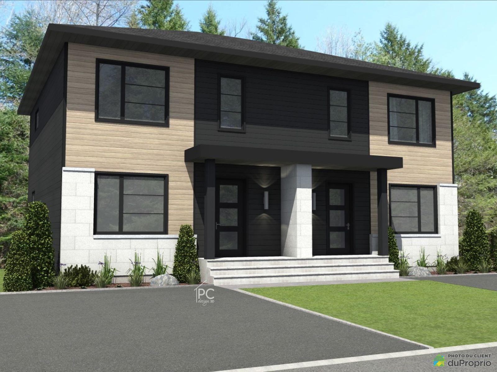 Modèle Liberty - À construire - Par Terrain Dev Immobilier inc., St-Émile for sale