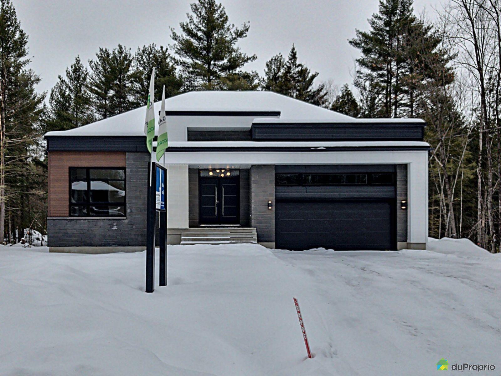 16925 rue du Zircon - Par Constructions Trudeau, Mirabel (Mirabel en Haut) à vendre