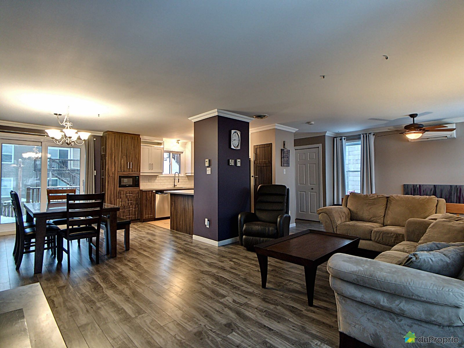 Dining Room / Living Room - 2284 rue Richard, St-Romuald for sale