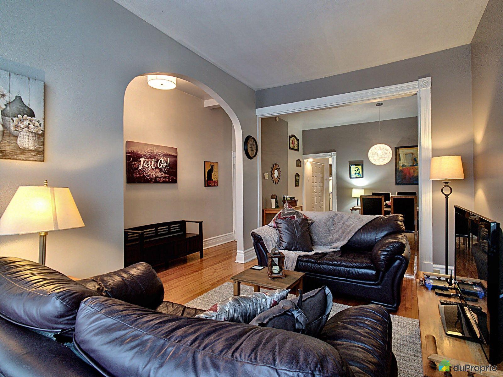 Living Room - 625 chemin Sainte-Foy, Montcalm for sale