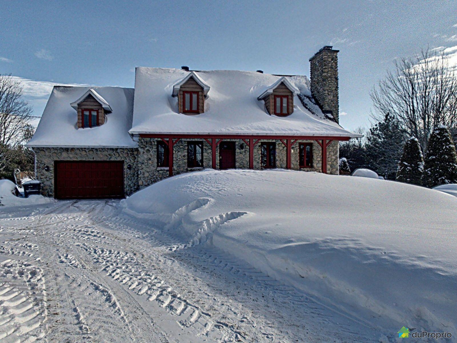 Winter Front - 1300 rang Saint-Mathieu, Shawinigan (Shawinigan-Sud) for sale