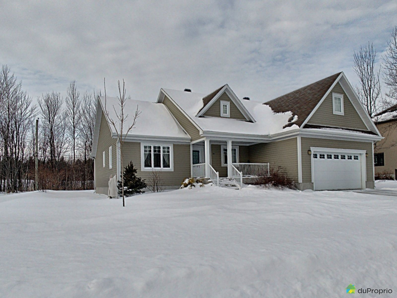 Winter Front - 161 rue des Aïeux, Trois-Rivières (Pointe-Du-Lac) for sale