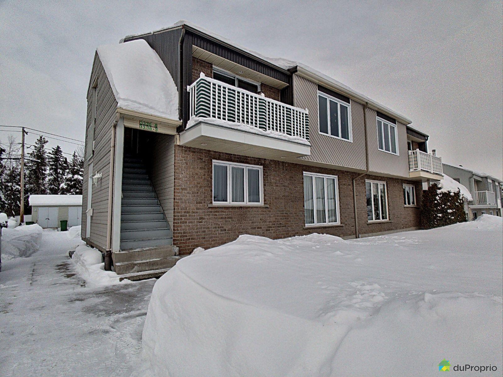 Winter Front - 3-3336 rue du Roi-Georges, Jonquière (Jonquière) for sale