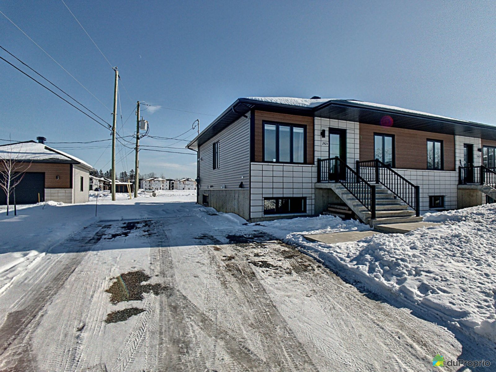 Winter Front - 2425 rue du Ménestrel, Drummondville (Drummondville) for sale