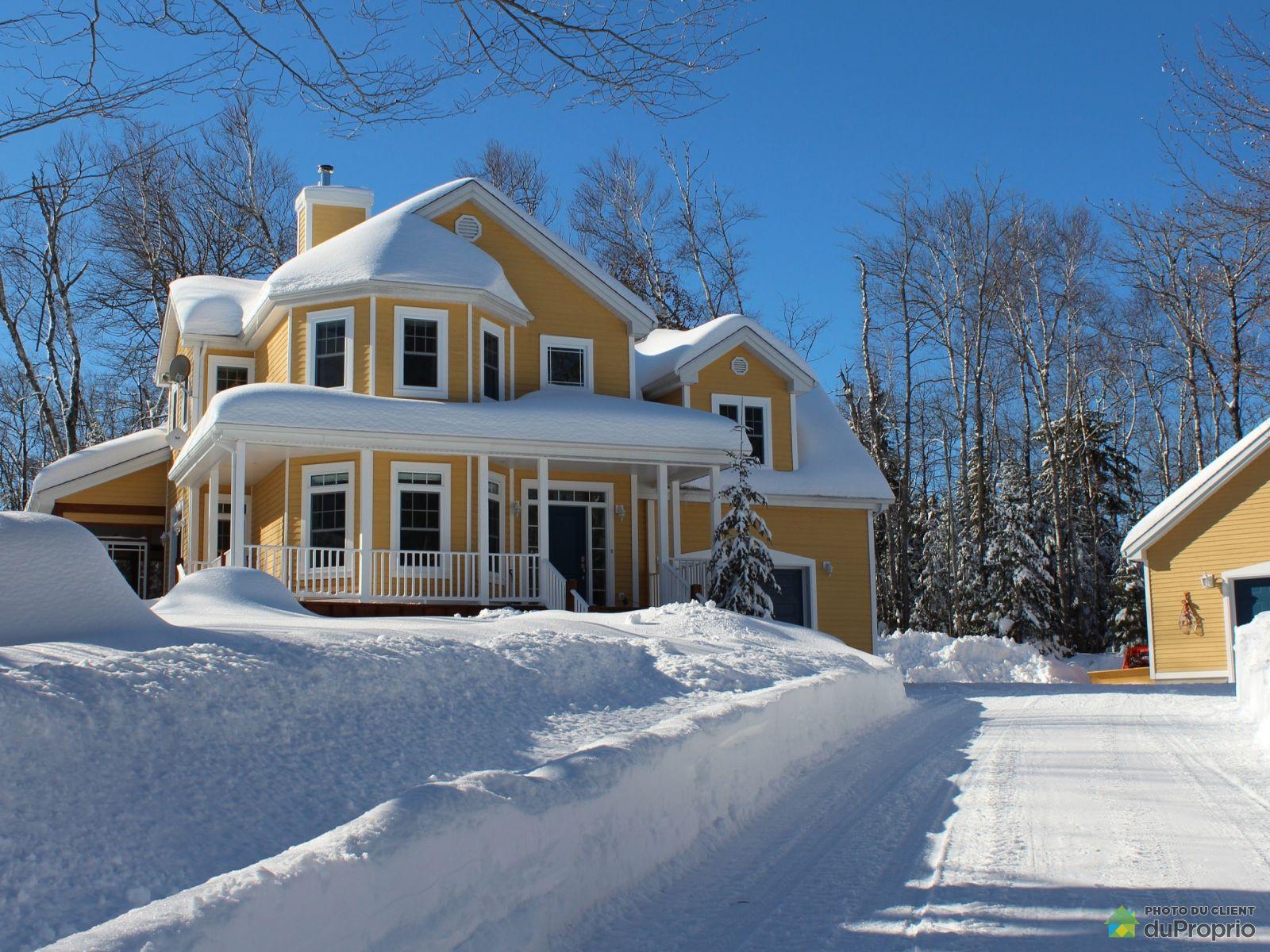Winter Front - 1020 chemin Masson, Ste-Marguerite-Du-Lac-Masson for sale