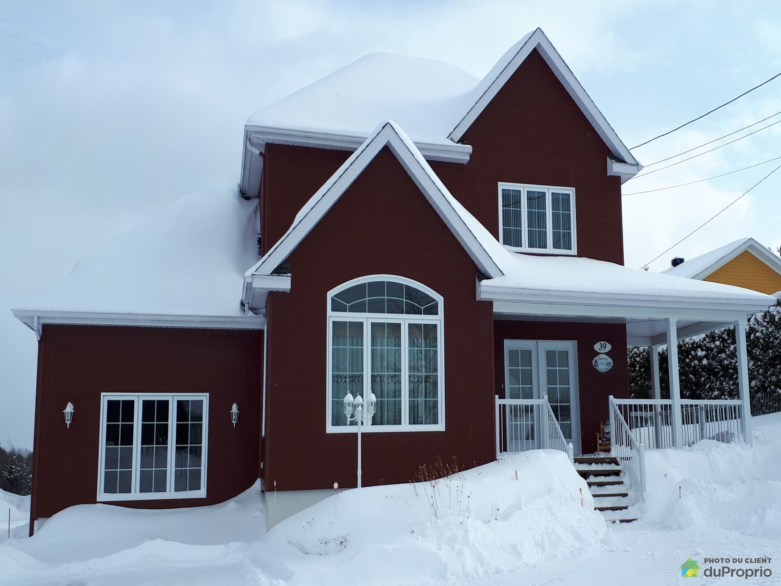Winter Front - 39 chemin Saint-Joseph, Rimouski (Ste-Blandine/Mont-Lebel) for sale