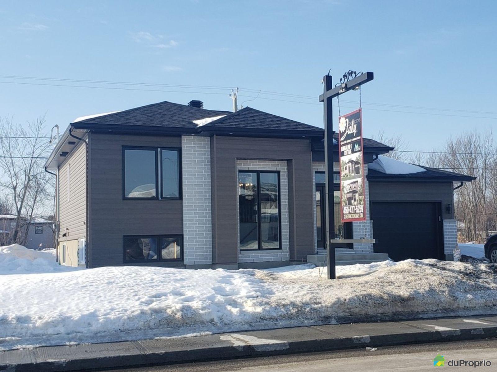 598, avenue Villeneuve - Le Jaly 5 - Par les Constructions Jaly, St-Lin-Laurentides à vendre