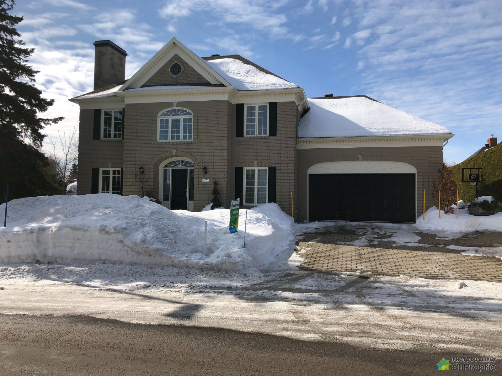 Winter Front - 1725 rue Francine-McKenzie, Lebourgneuf for sale