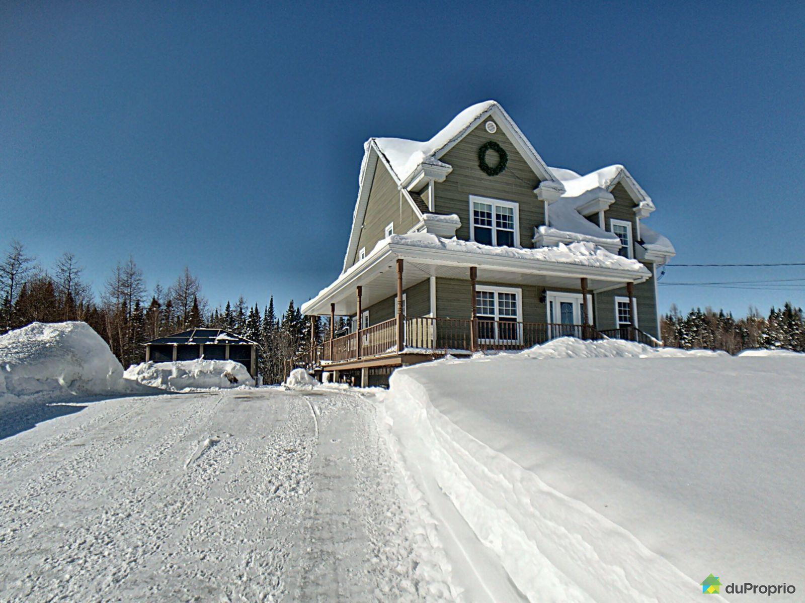 Winter Front - 1173 rang du Nord, St-Raymond for sale