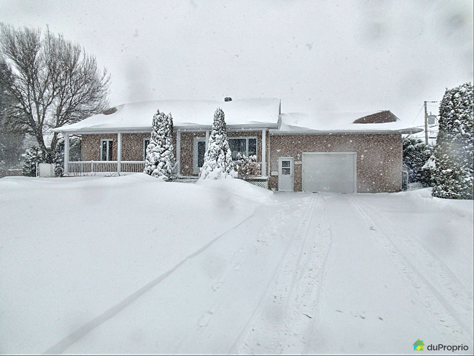 Winter Front - 1781 rue Rodolphe-Duguay, Nicolet for sale