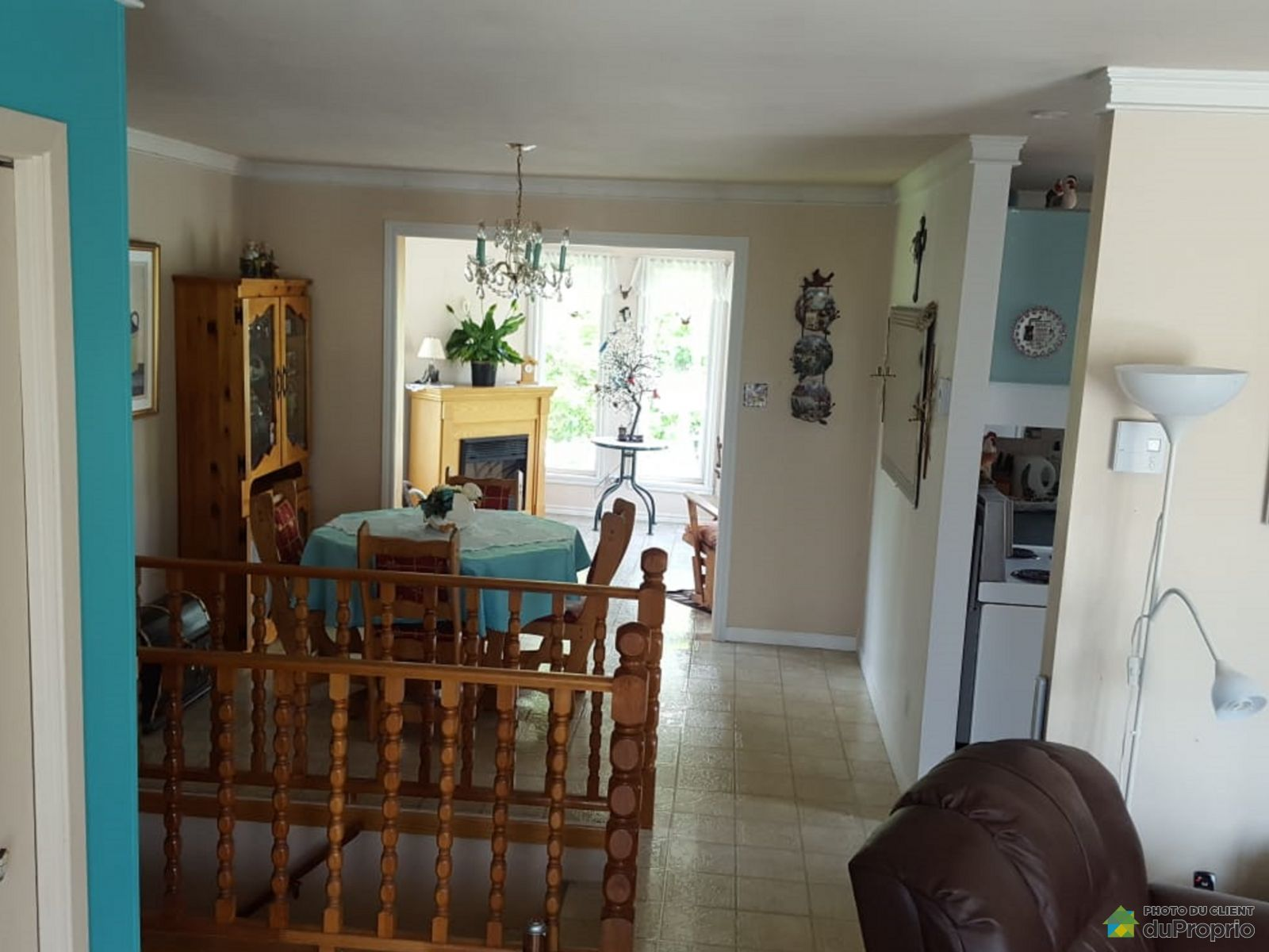 Dining Room / Living Room - 74 route Leblanc, Pabos for sale