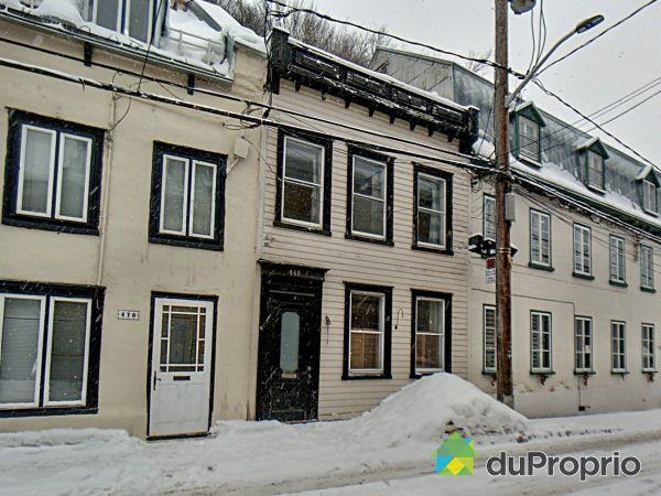 468, rue Champlain, Vieux-Québec à vendre
