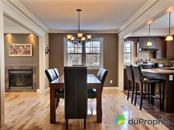Dining Room - 4 avenue des Flancs, Lac-Delage for sale